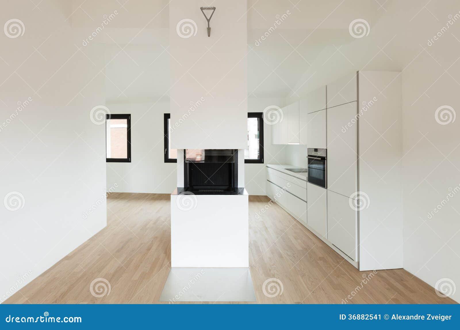Download Nuova casa interna immagine stock. Immagine di vivere - 36882541