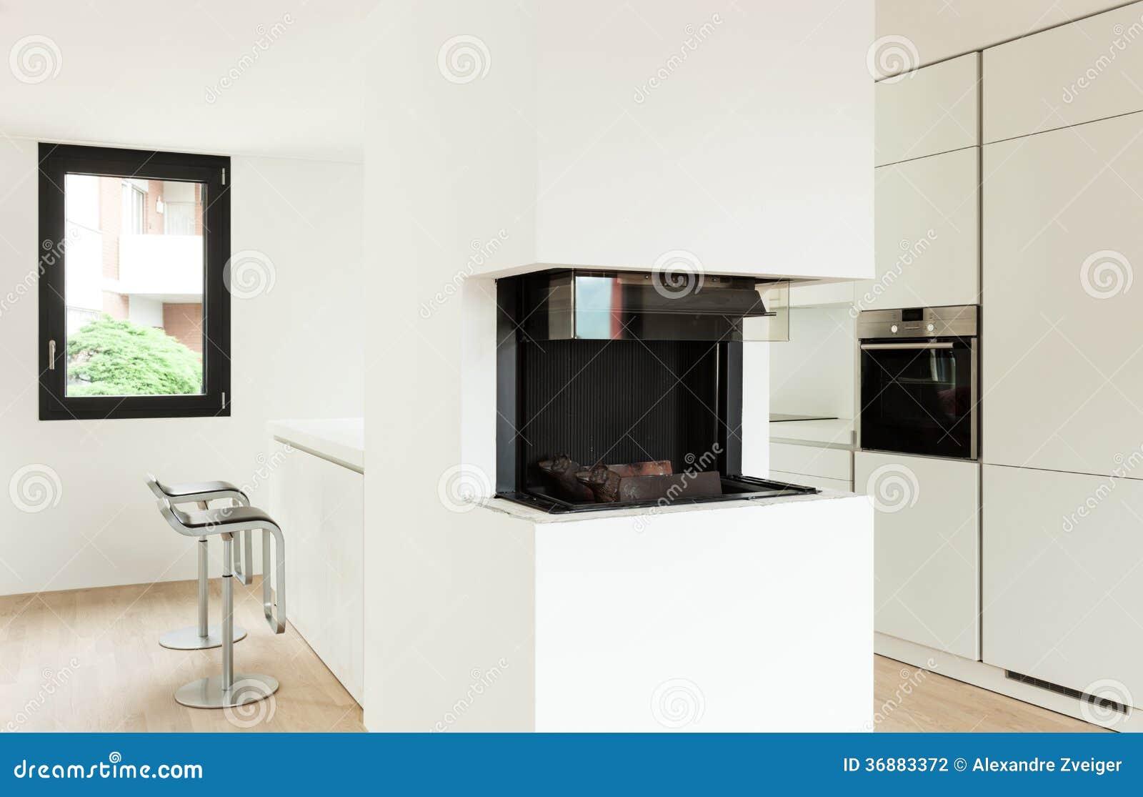 Download Nuova casa interna fotografia stock. Immagine di vuoto - 36883372