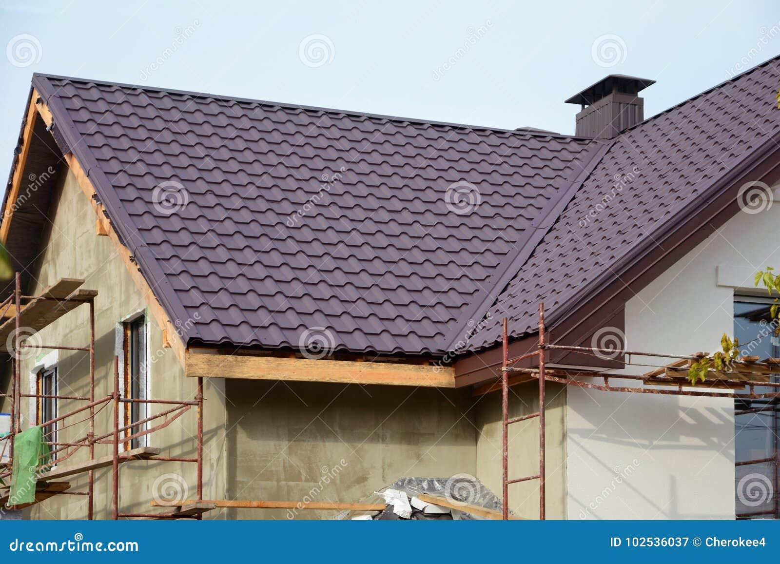 Nuova casa moderna della costruzione di casa costruzione for Progetto casa moderna nuova costruzione
