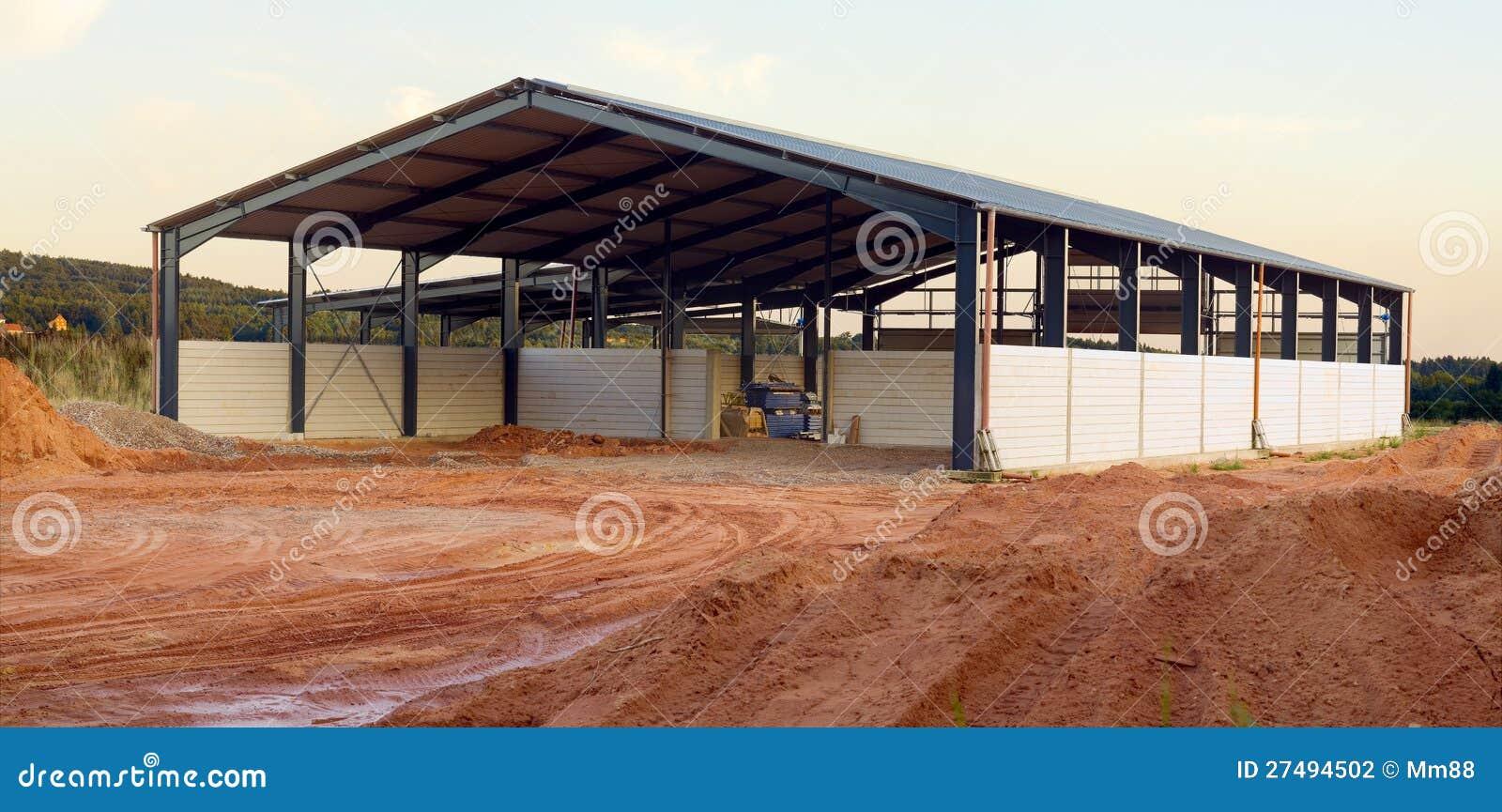 Nuova costruzione di agricoltura