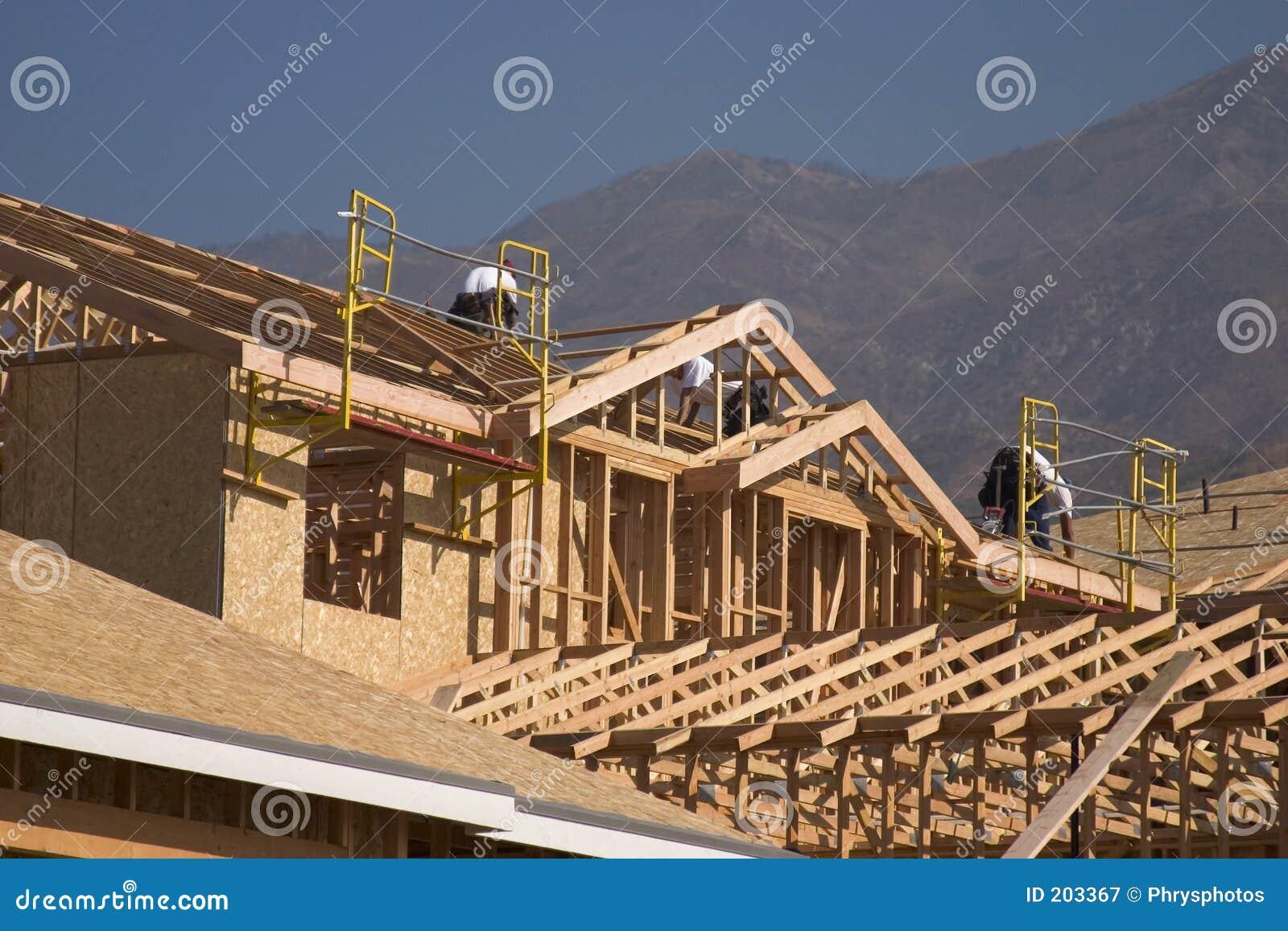 Nuova costruzione domestica e del casa