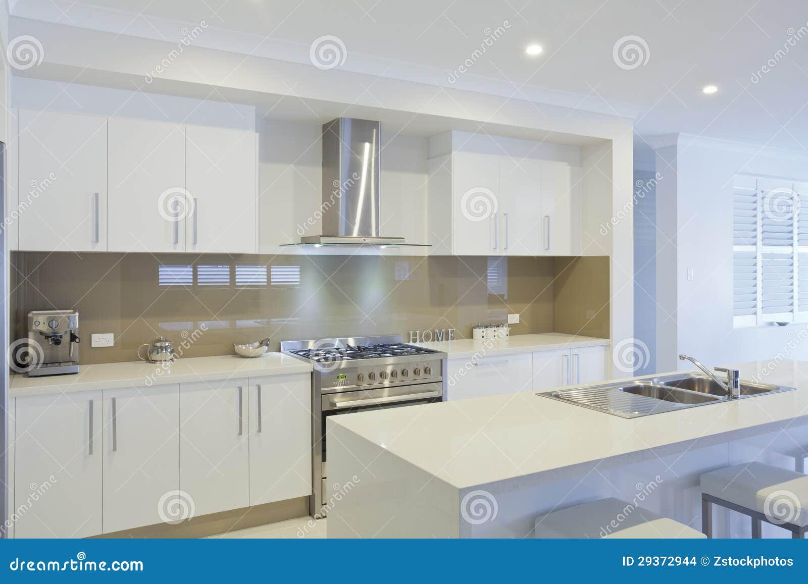 Cucina Moderna Nuova.Nuova Cucina Moderna Fotografia Stock Immagine Di