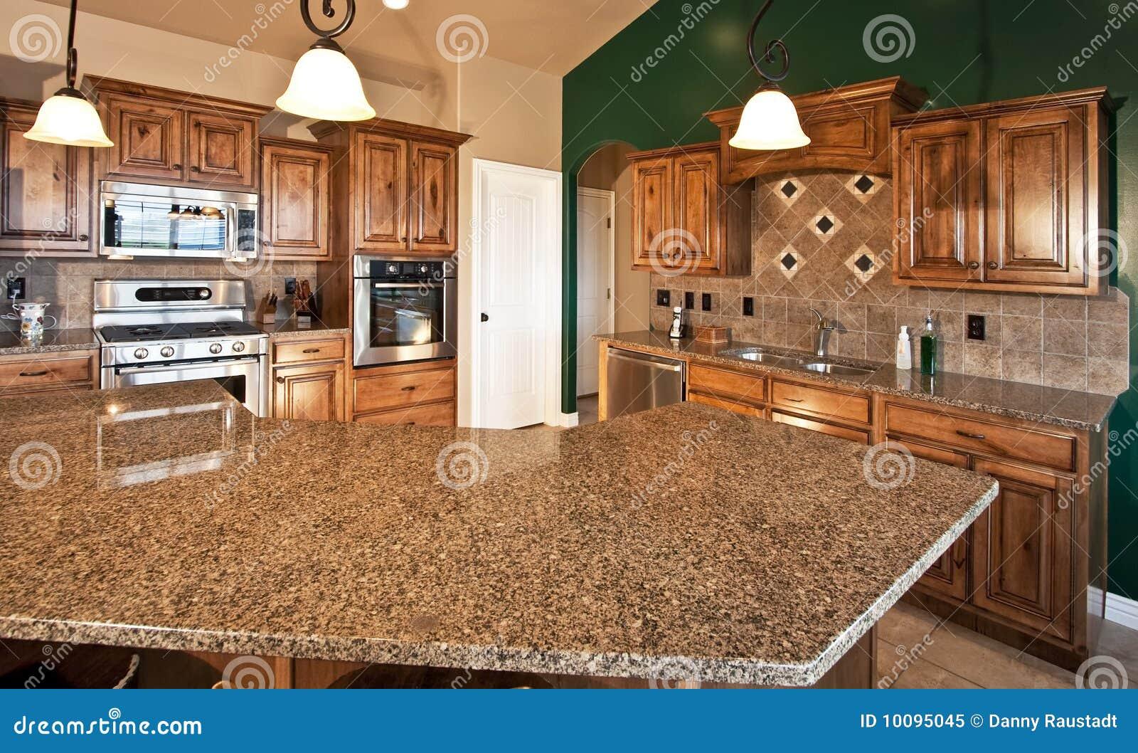 Nuova cucina moderna domestica