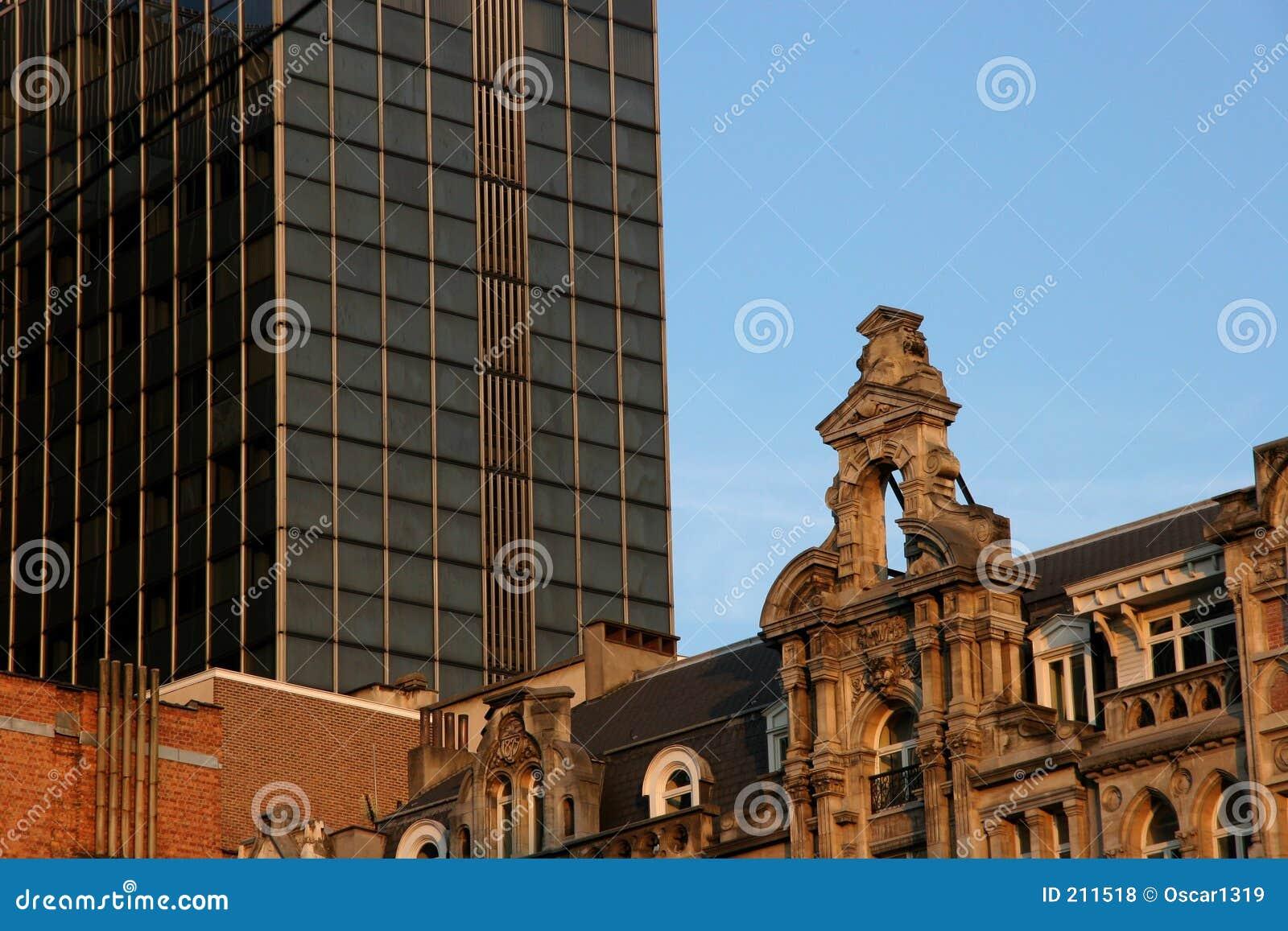 Nuova e vecchia architettura