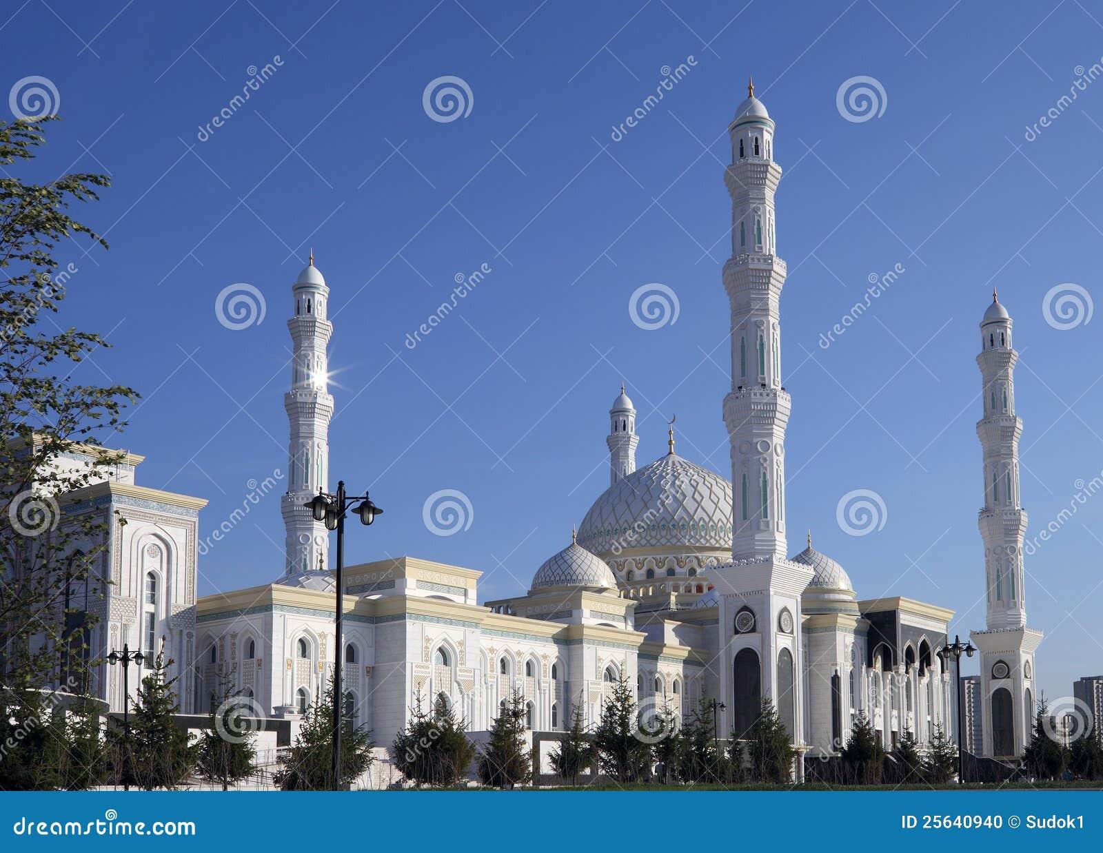 Nuova moschea a Astana. Il Kazakistan