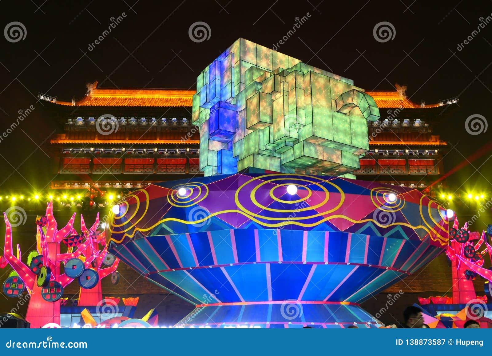 2019 nuovi anni cinesi in Xian