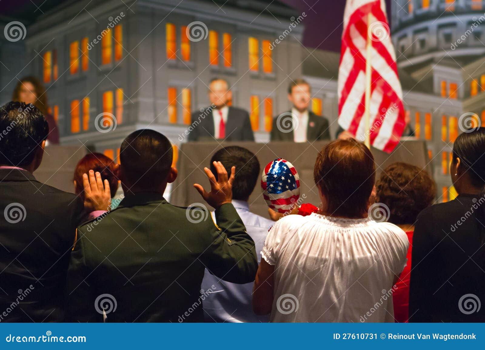 Nuovi cittadini americani fotografia editoriale immagine for Nuovi piani domestici americani