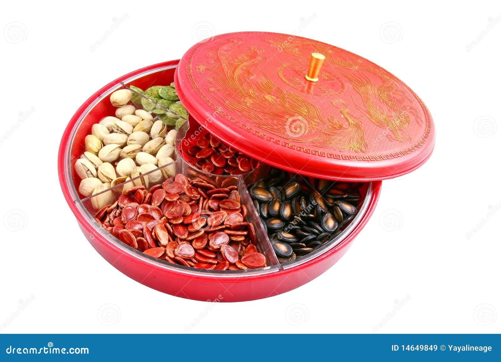 Nuovo anno cinese - contenitore cinese di caramella