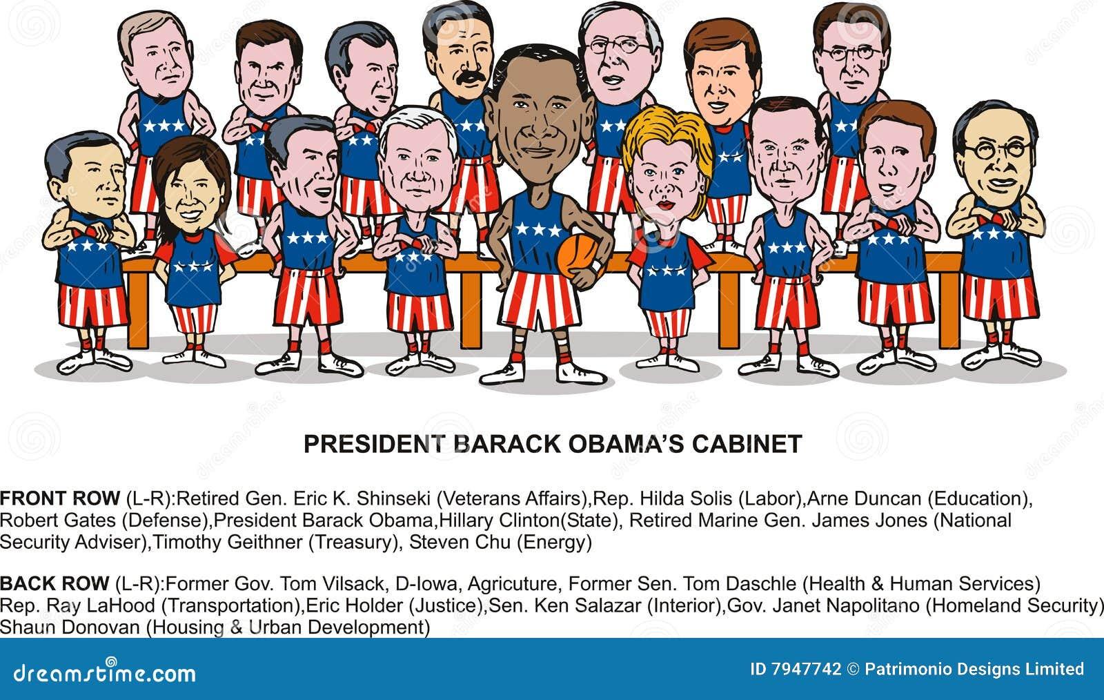 Nuovo armadietto di Barack Obama