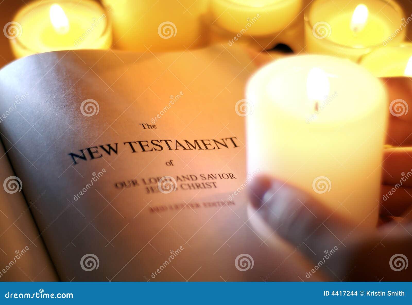 Nuovo testamento da Candlelight