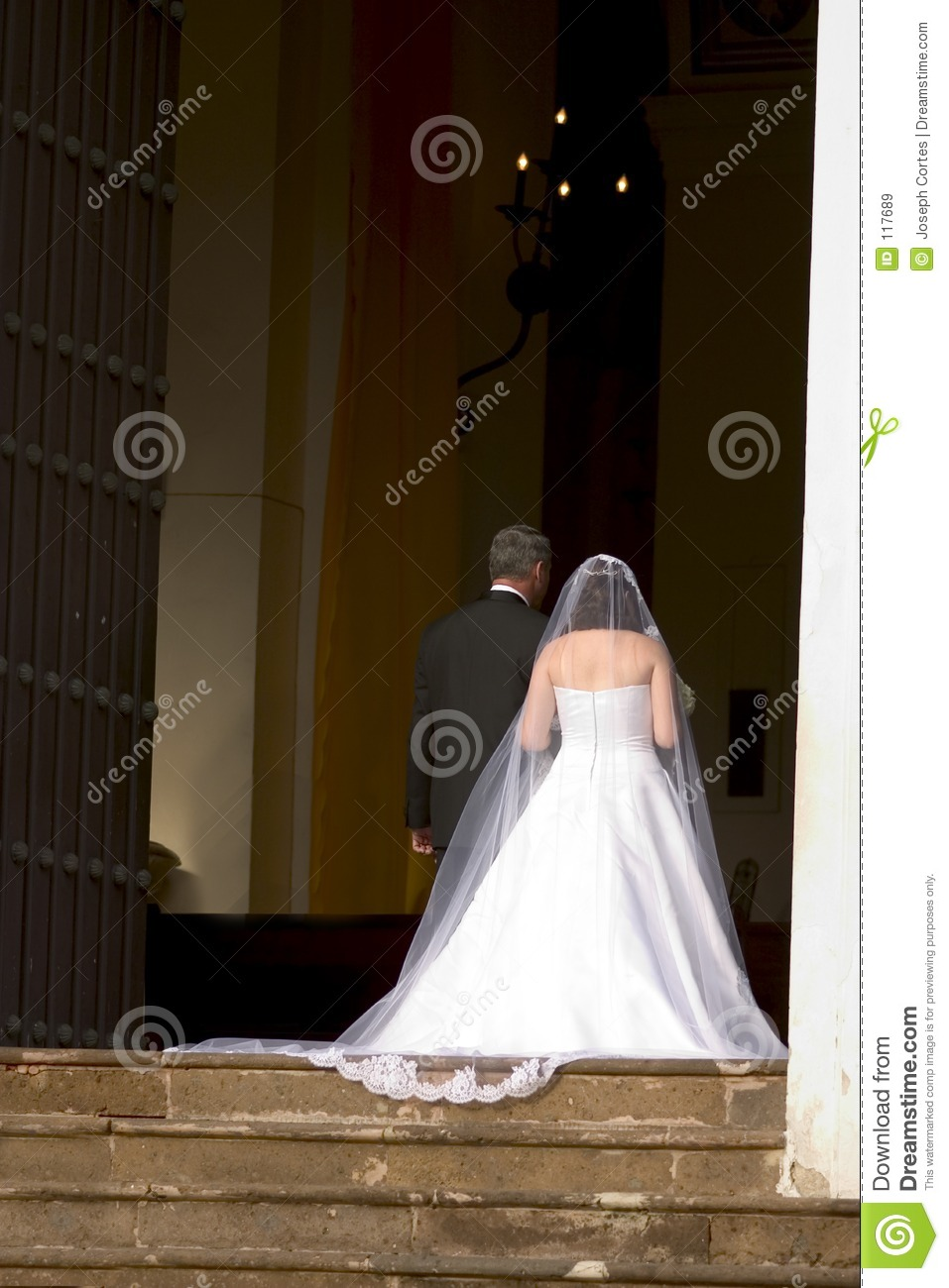 Nuptial ceremony at the chapel