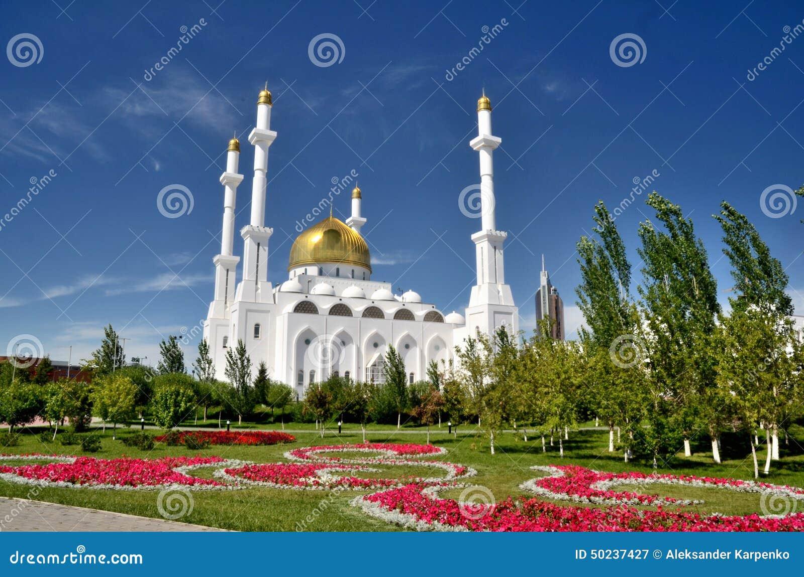 Nur Astana Mosque em Astana