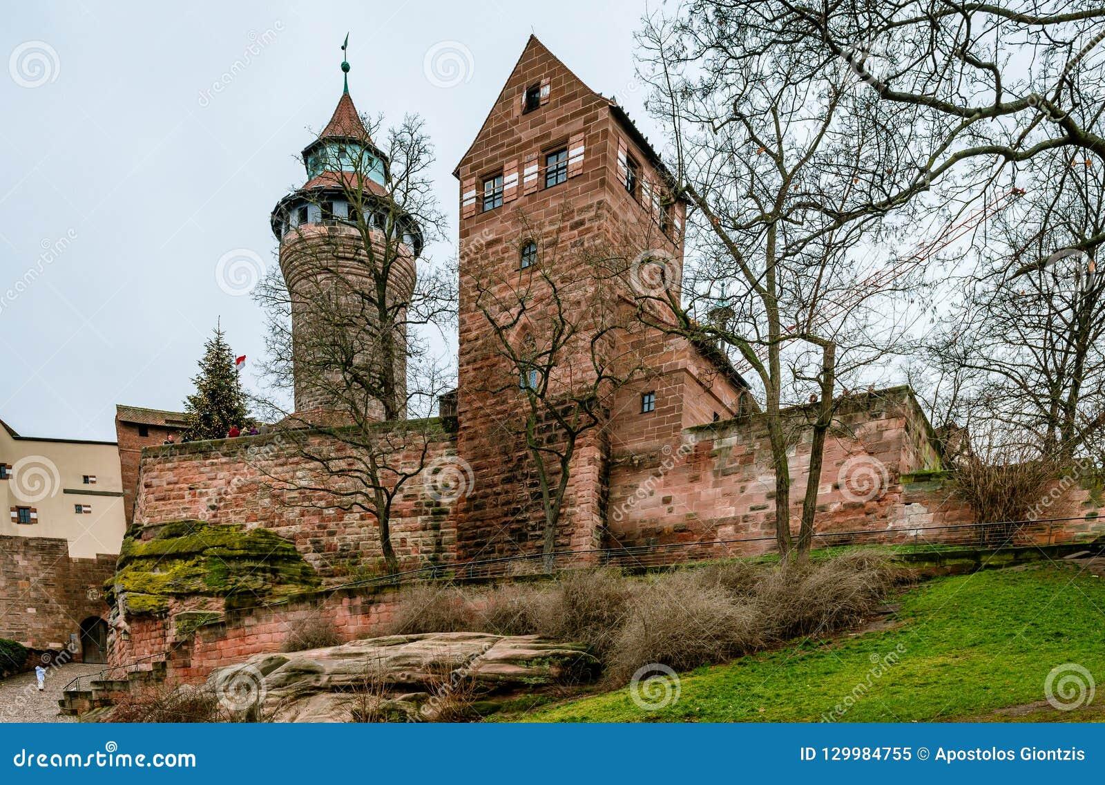The Nuremberg Castle.