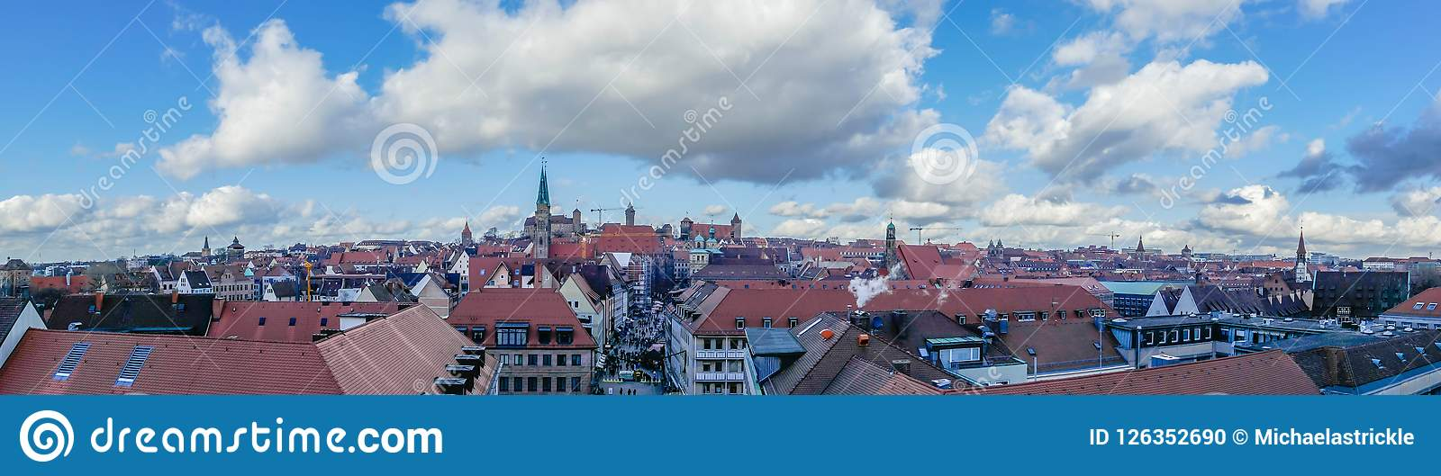 Nuremberg City from above