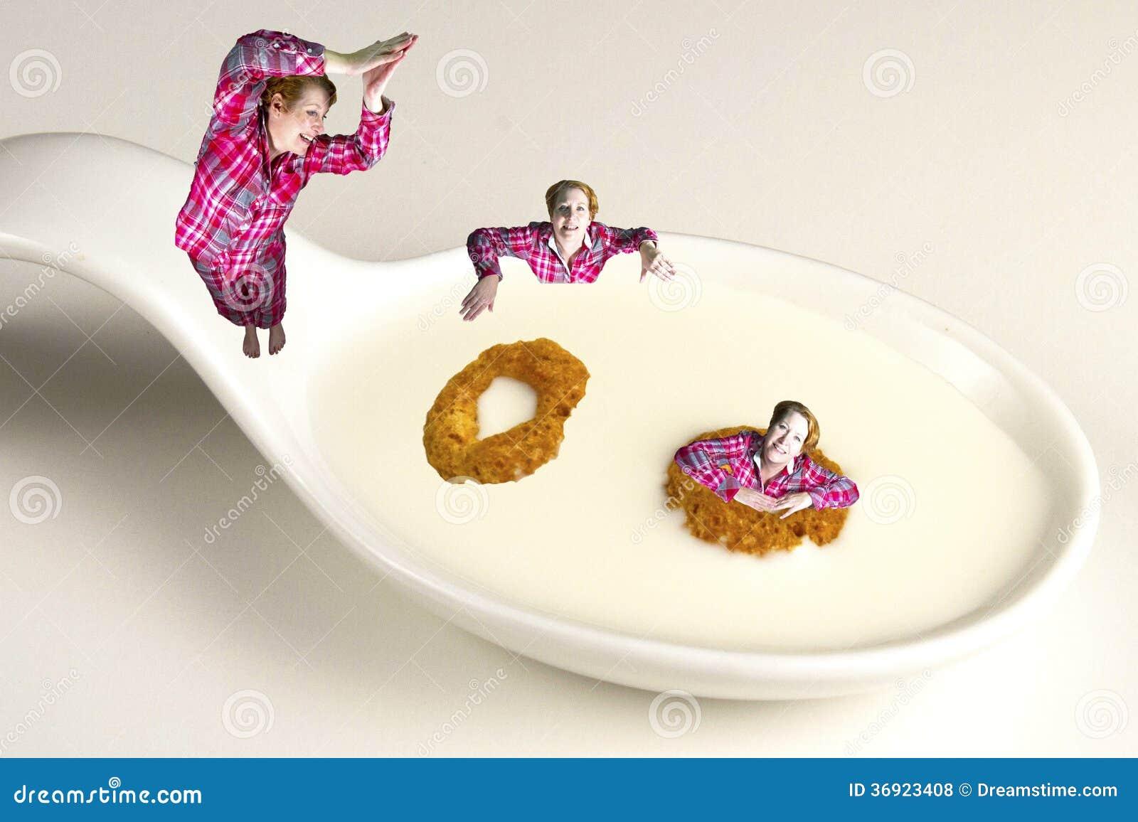Nurkować w Zdrowego śniadanie