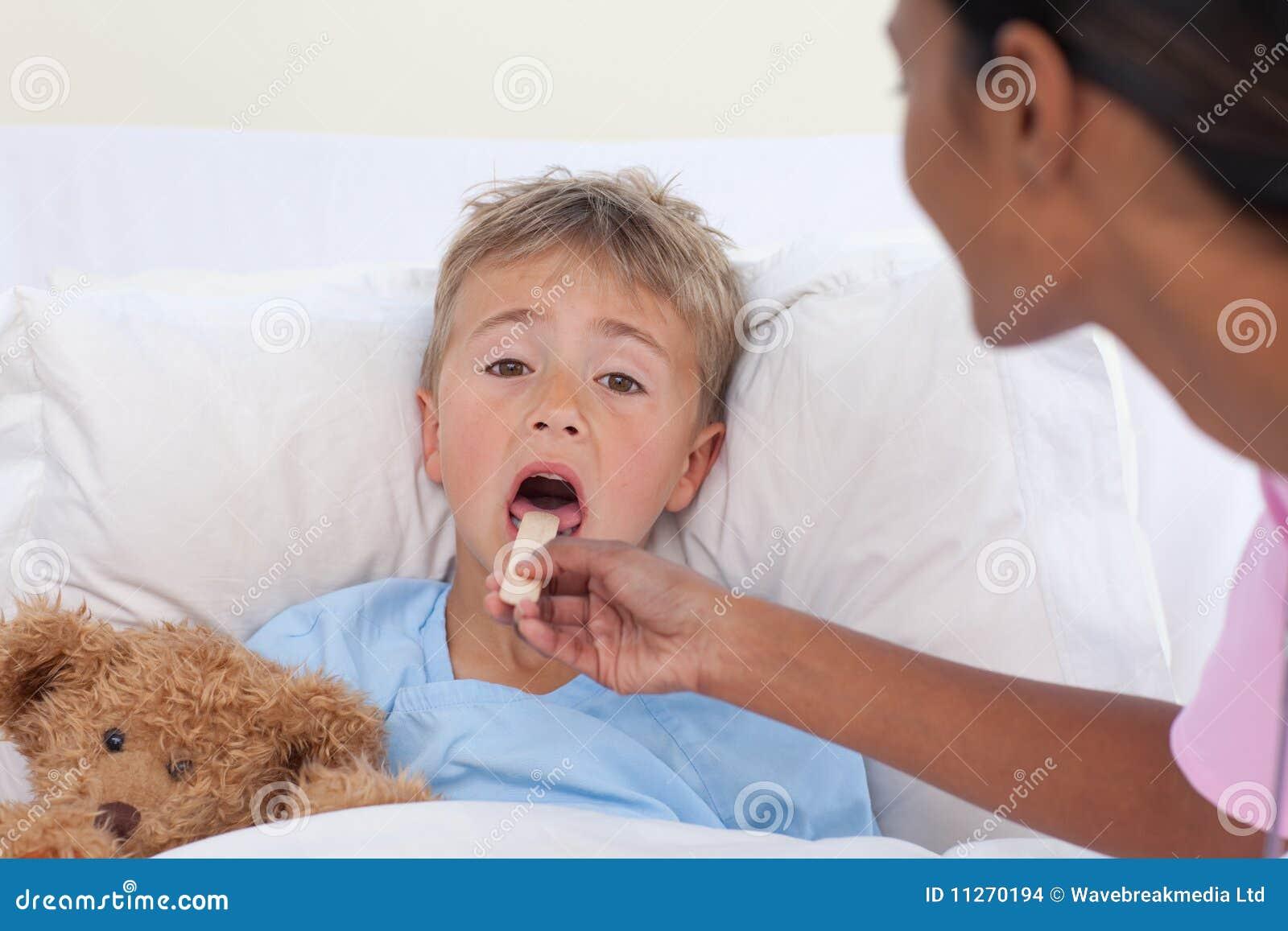 boy throat