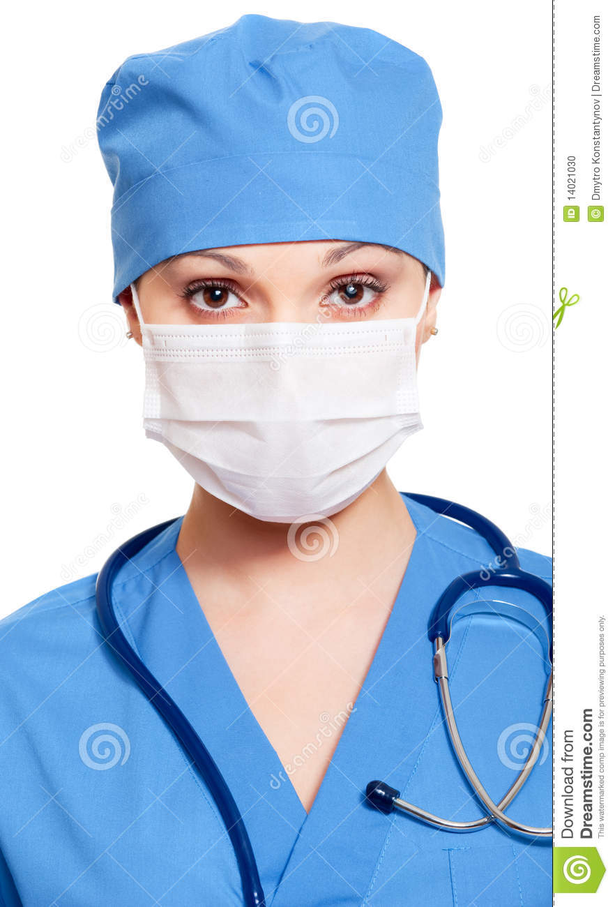14021030 And Mask Photo In - Stock Uniform Nurse Healthcare Image Of