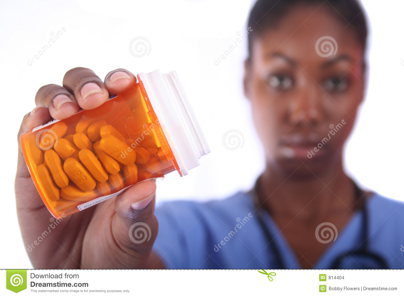 Nurse With Pills