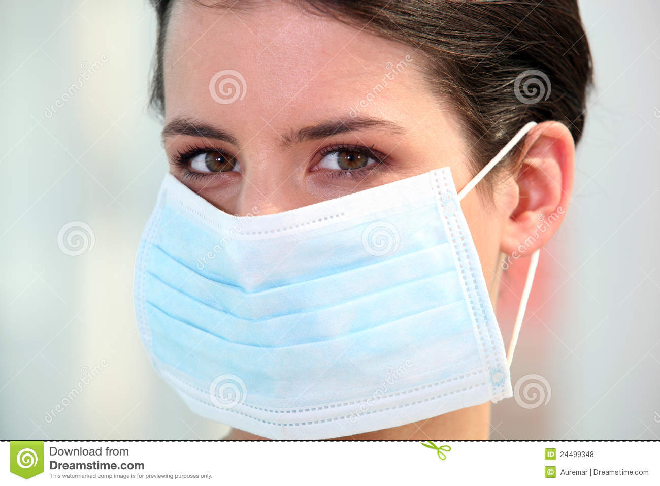 Mask Occupation Of - Stock Surgical Photo Nurse Wearing Image