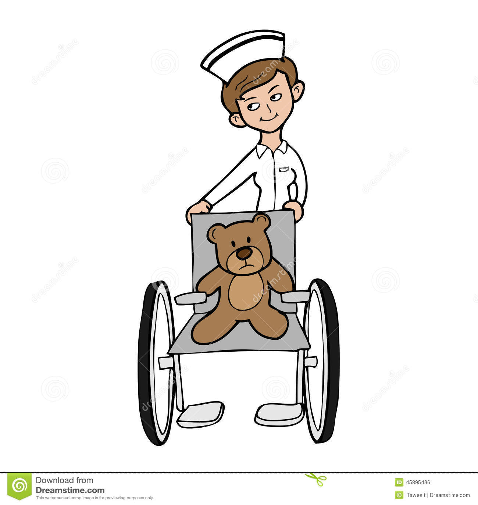 https://thumbs.dreamstime.com/z/nurse-wheel-chair-bear-veterinary-wheelchair-cartoon-45895436.jpg Girl