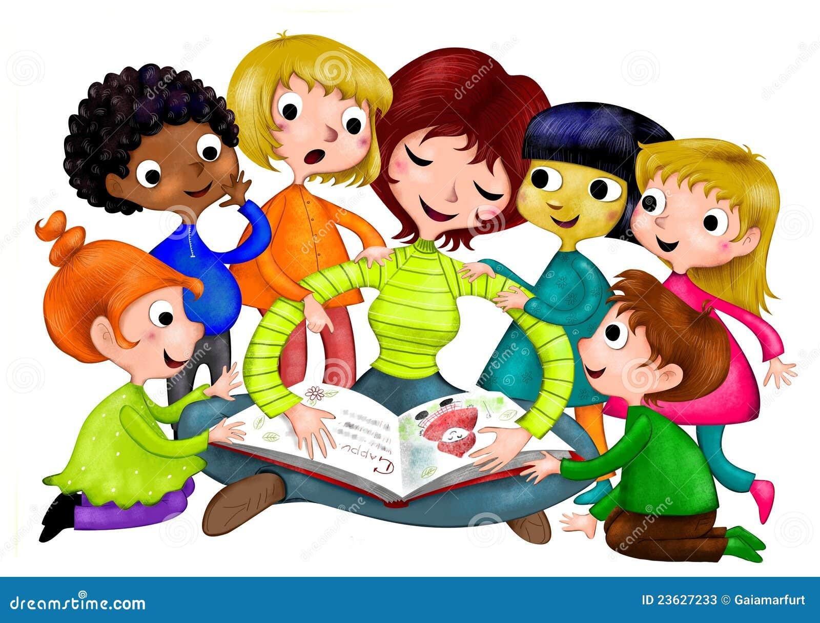 Nursery School stock illustration. Illustration of sitting ...