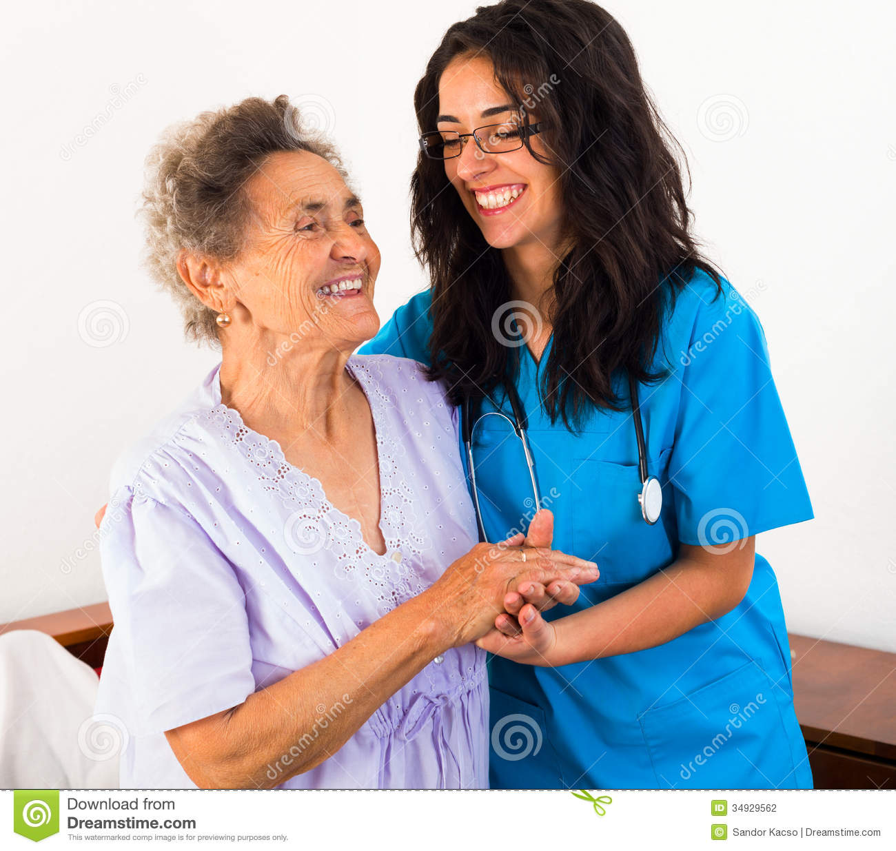 a nurse is instructing the patient care assistants