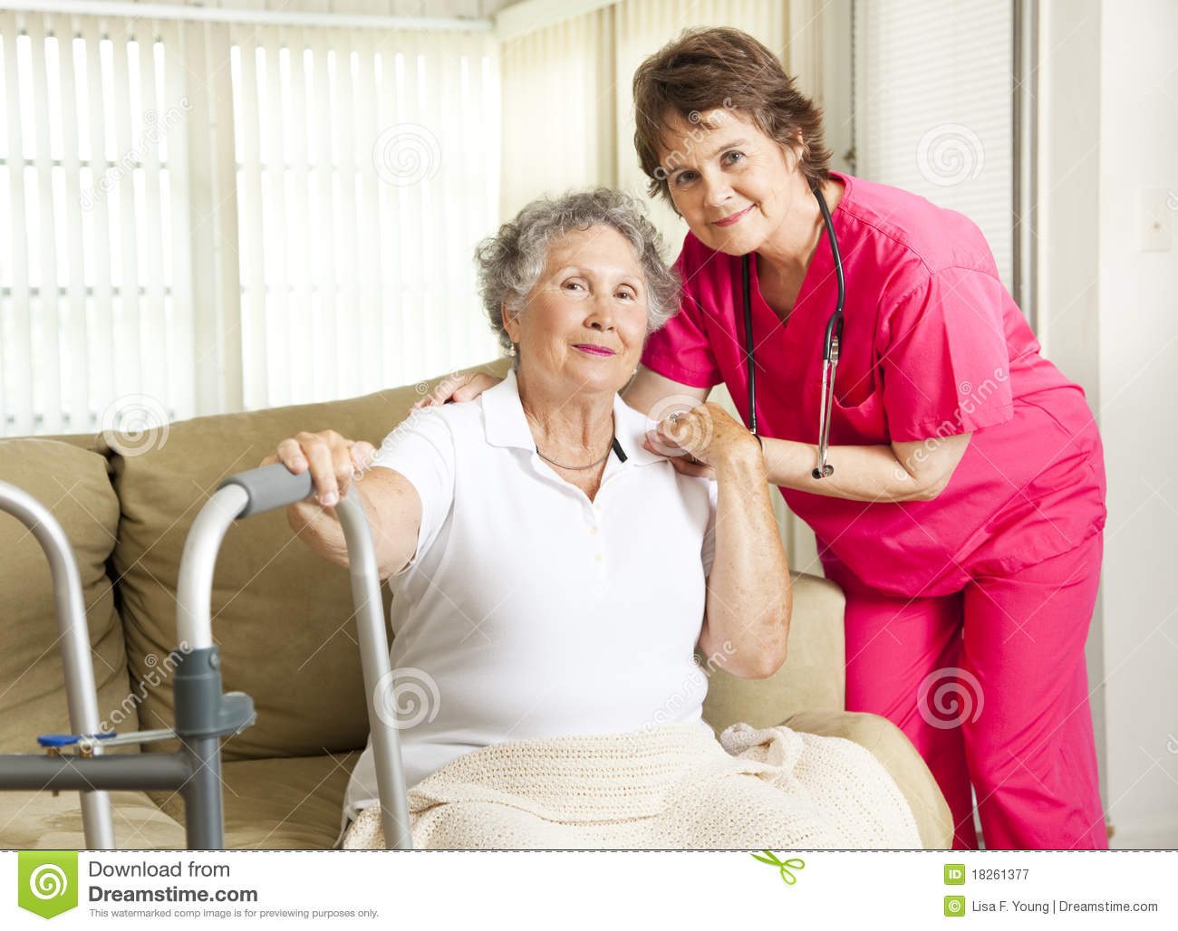 Nursing Home Care Stock Image Image Of People Nursing 18261377