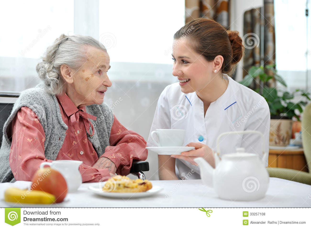 Nursing home royalty free stock photos image 33257108 for Seniors house