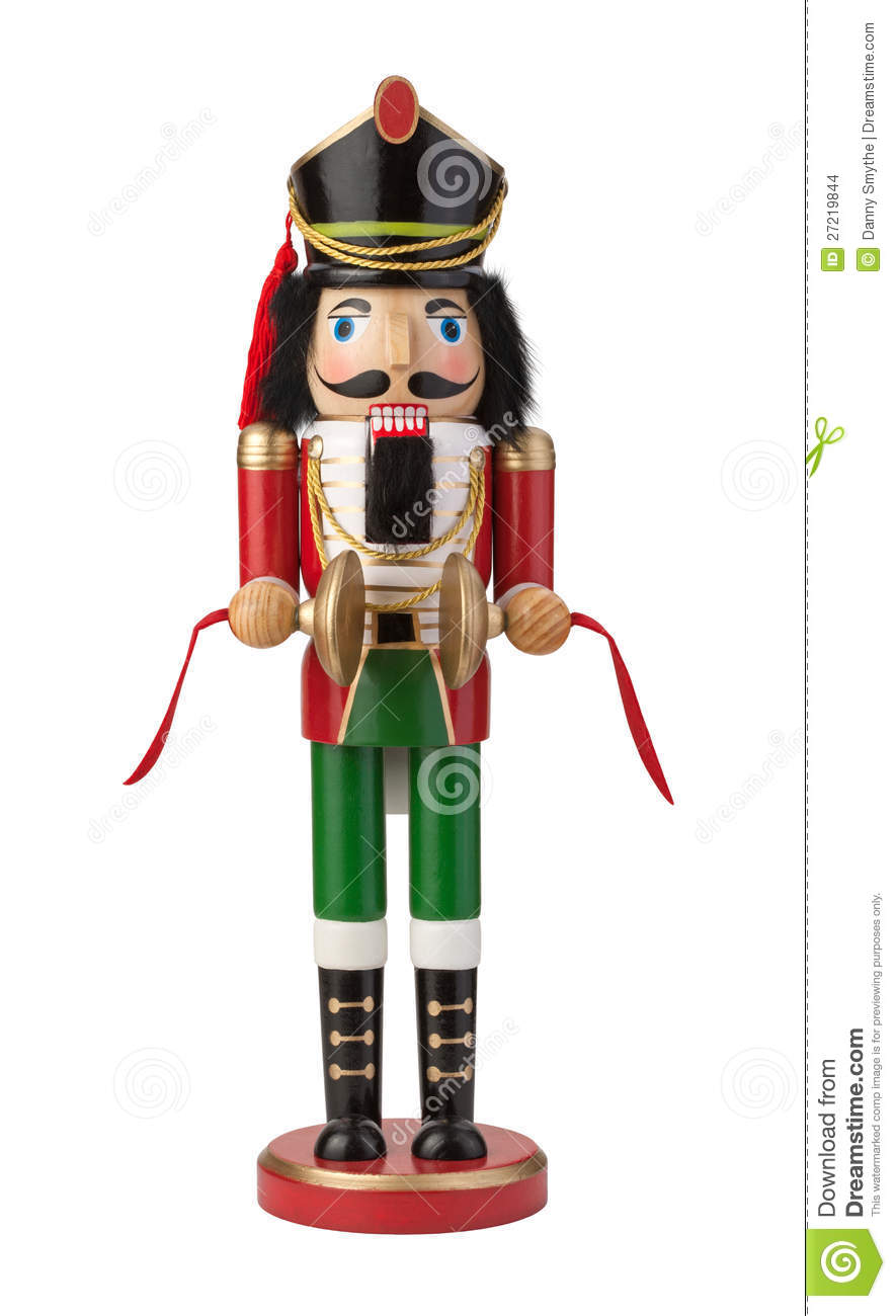 Nutcracker Isolated With Clipping Path Stock Photo Image