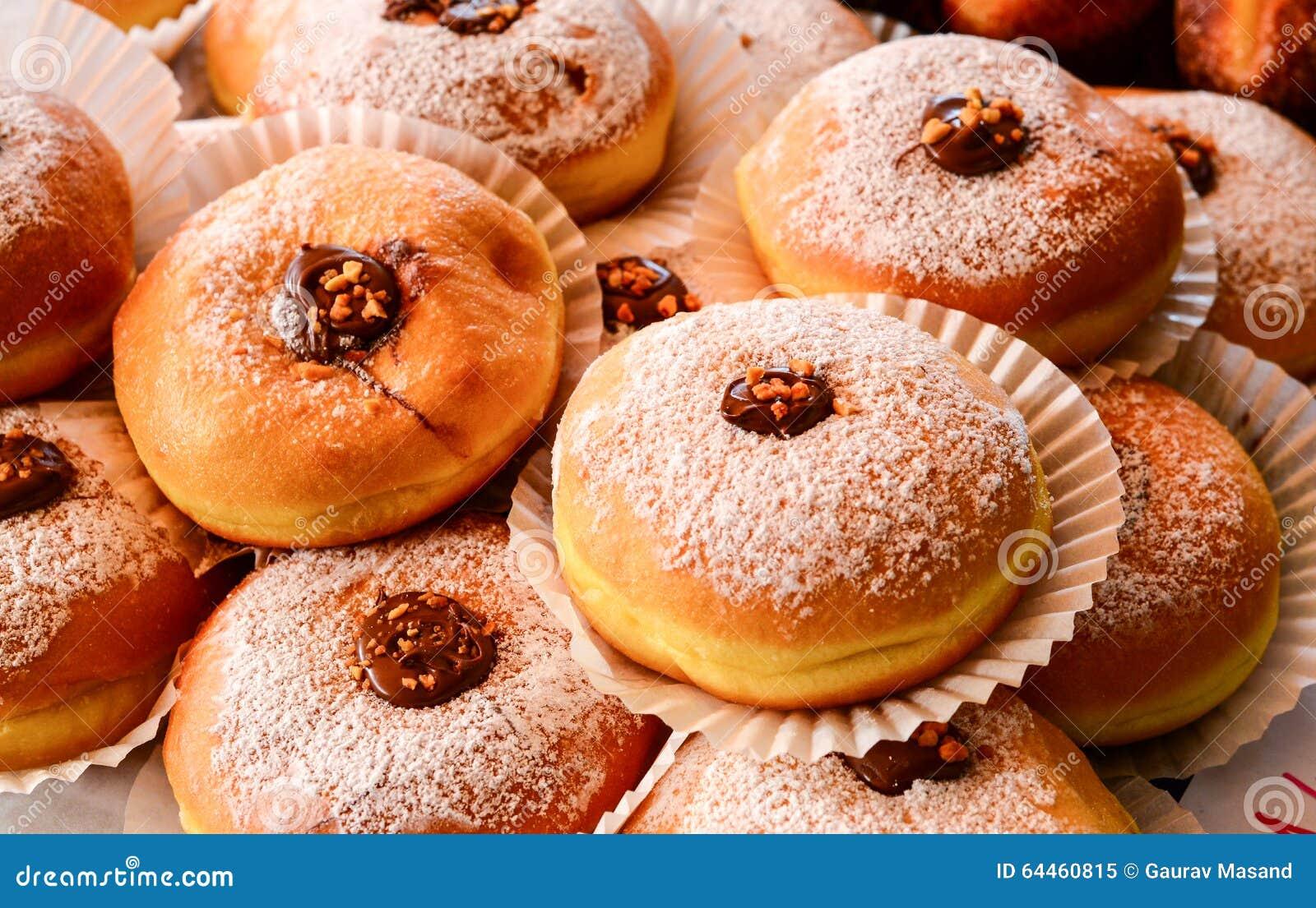 Nutella小圆面包