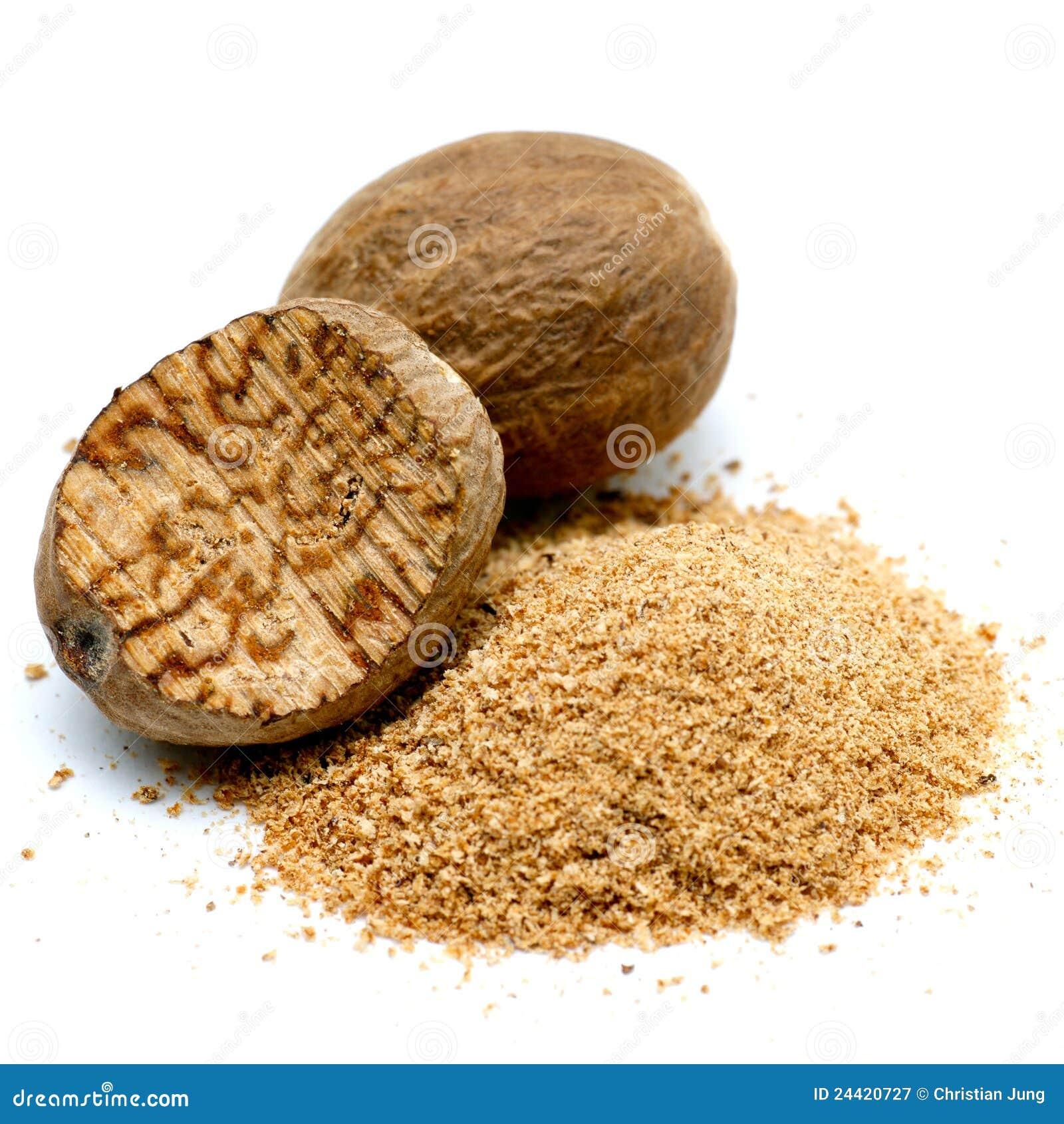Nutmeg Royalty Free Stock Photography - Image: 24420727