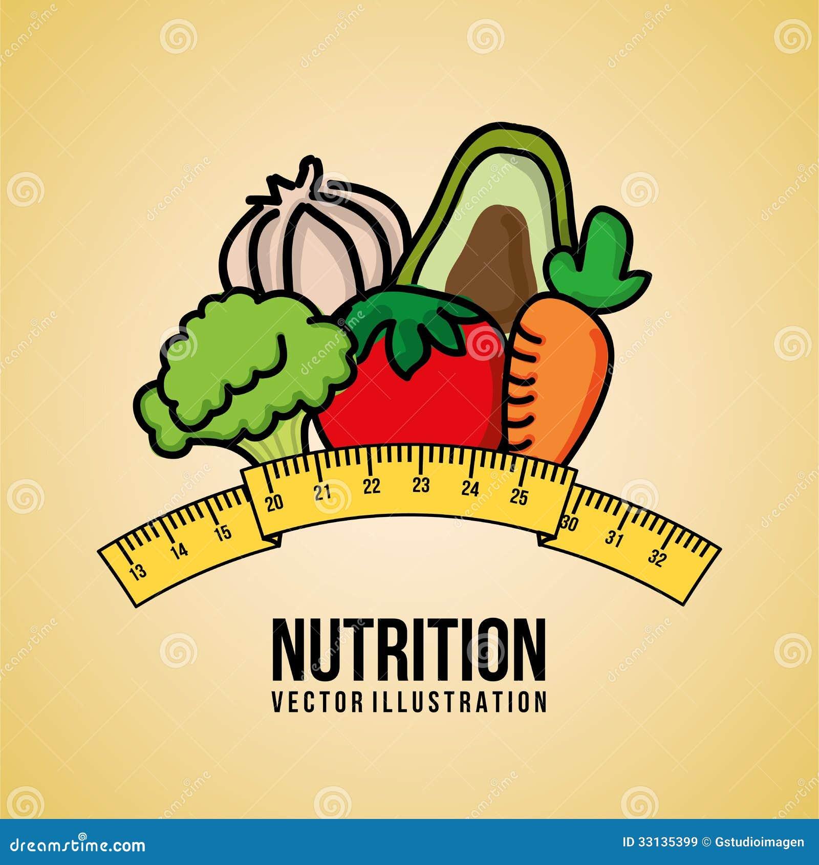 Nutrición Ilustración Del Vector Ilustración De Concepto