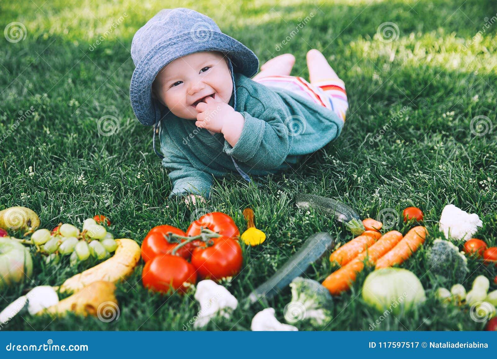 Nutrición natural sana del niño y de la familia