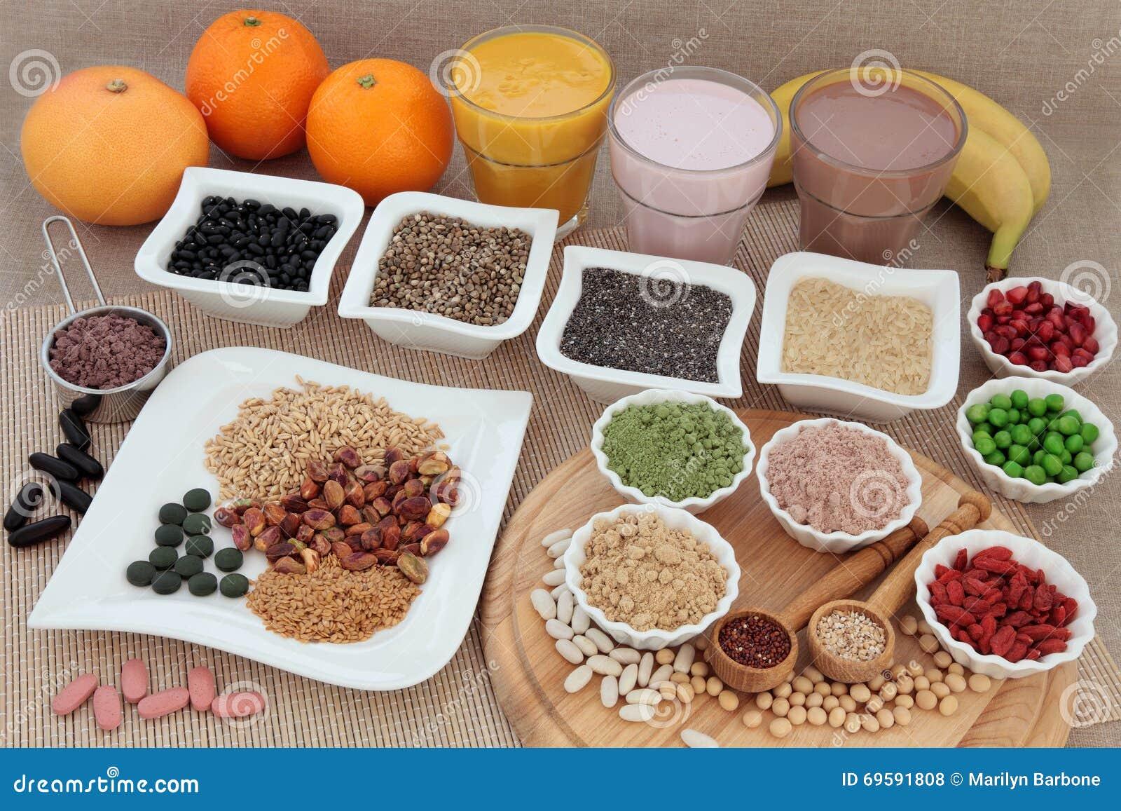 Nutrición sana para los culturistas