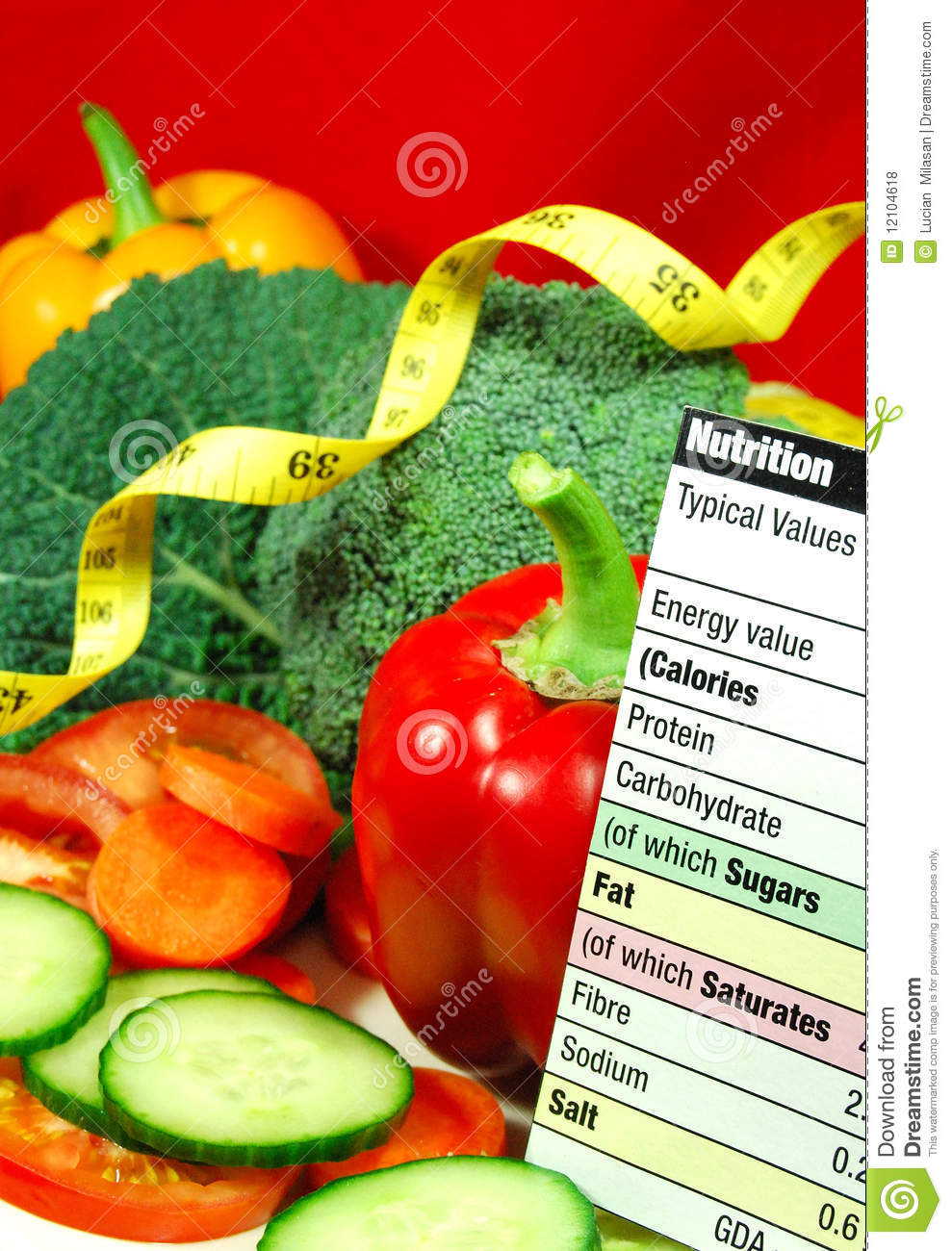 Nutrition Royalty Free Stock Photos Image 12104618