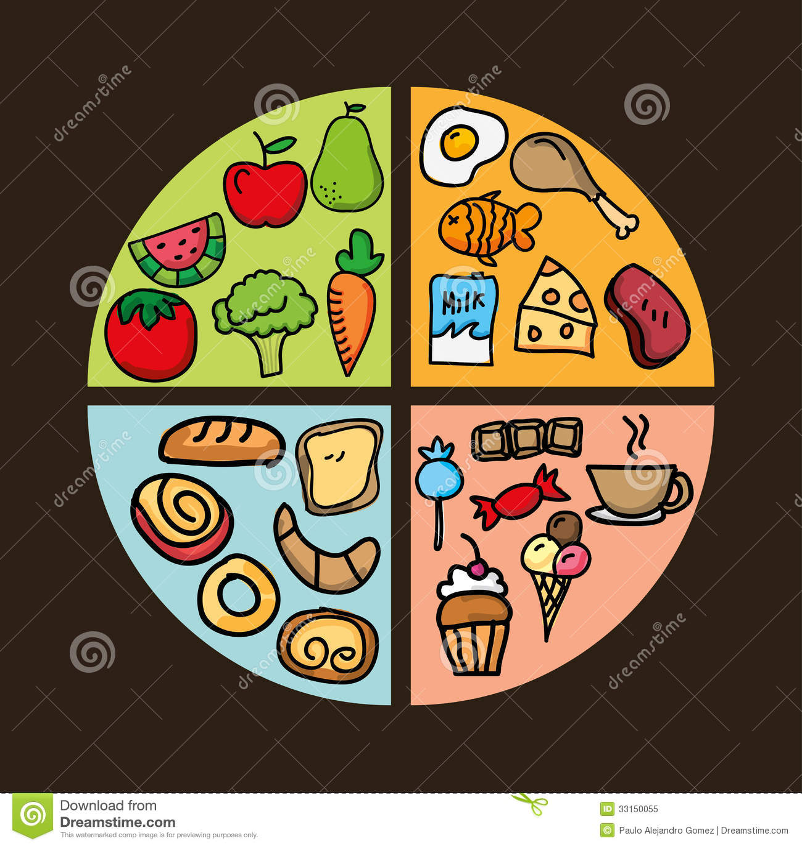 Nutrition Design Stock Illustration Illustration Of Diet 33150055
