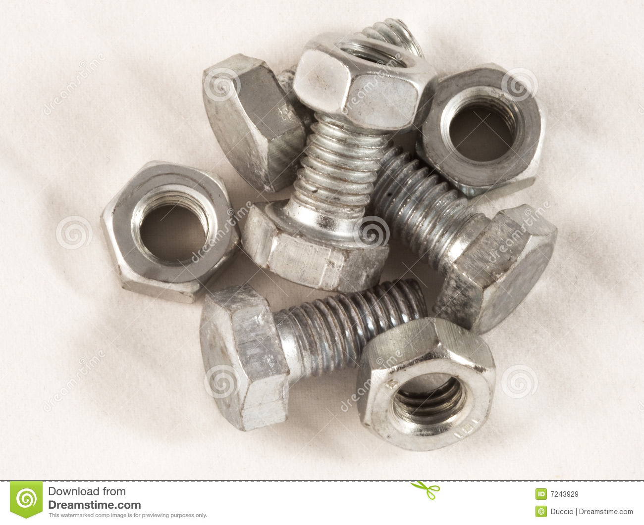 Nuts and bolts stock image  Image of hardware, open, unscrew