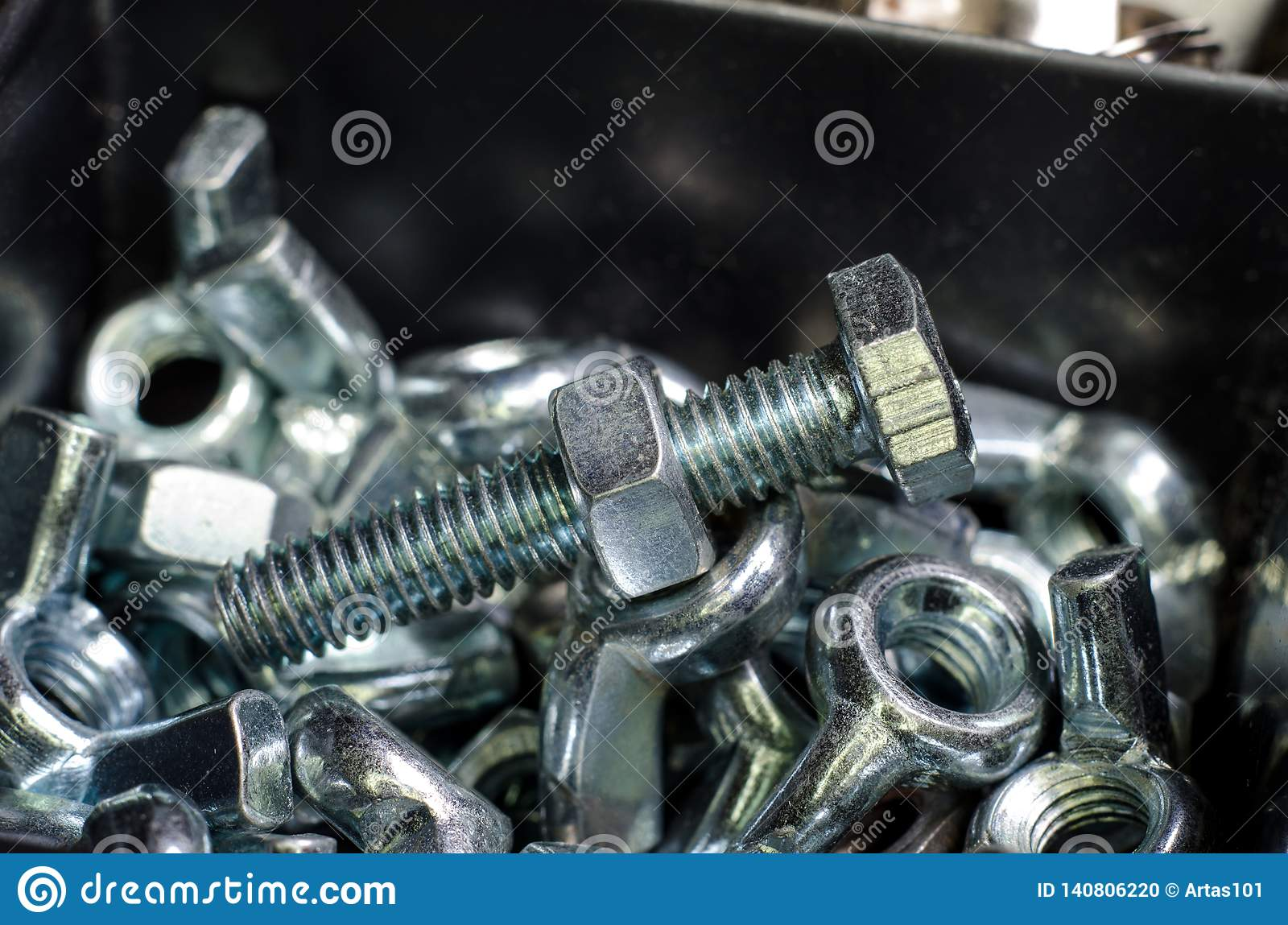 Nuts and bolts stock photo  Image of device, repair - 140806220