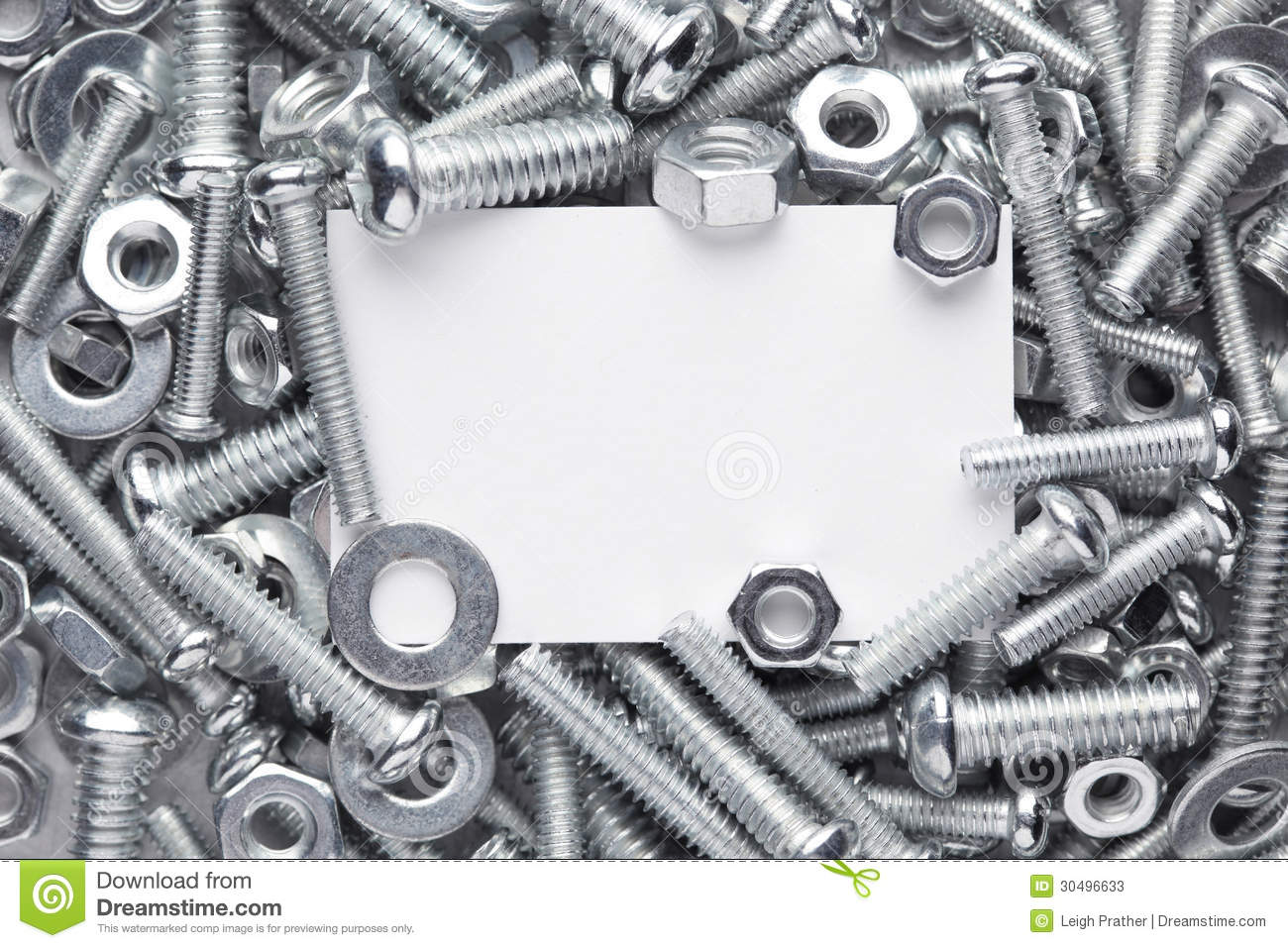 Nuts And Bolts Hardware >> Nuts And Bolts Frame Stock Photos - Image: 30496633