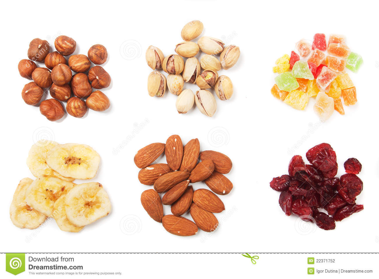 Nuts And Dried Fruit Stock Photography - Image: 22371752