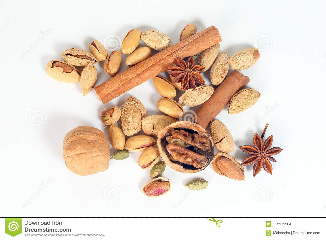 Nuts spice mix