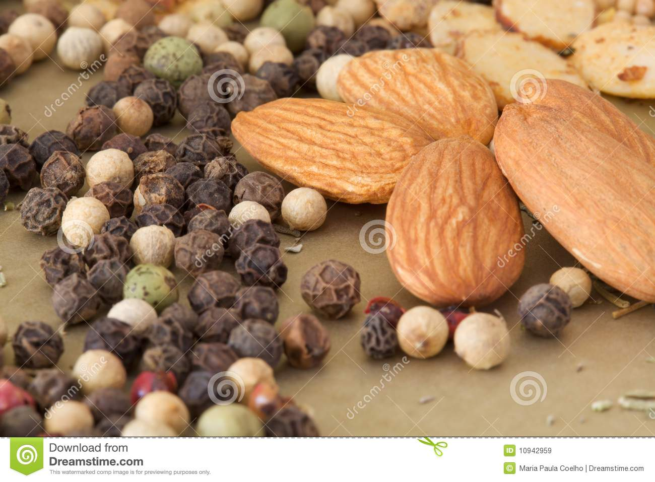 Nuts and spices