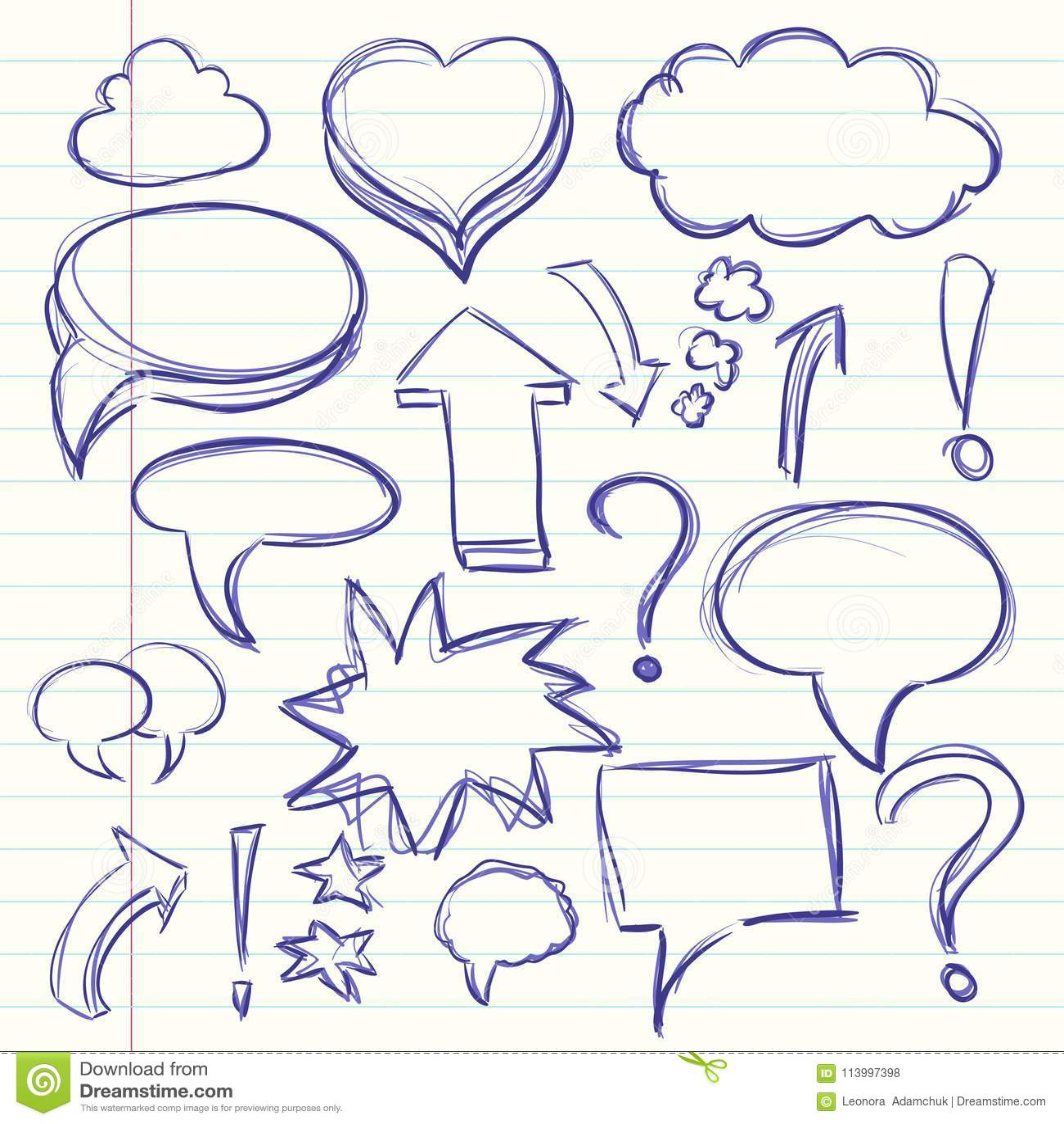A Nuvem Da Conversacao Dos Pensamentos Na Banda Desenhada Na