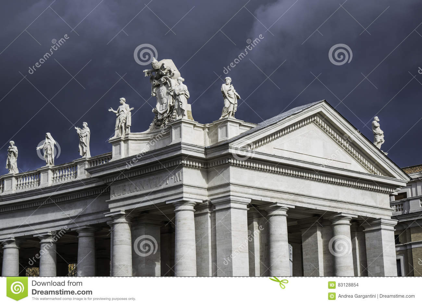 Nuvem sobre St Peter