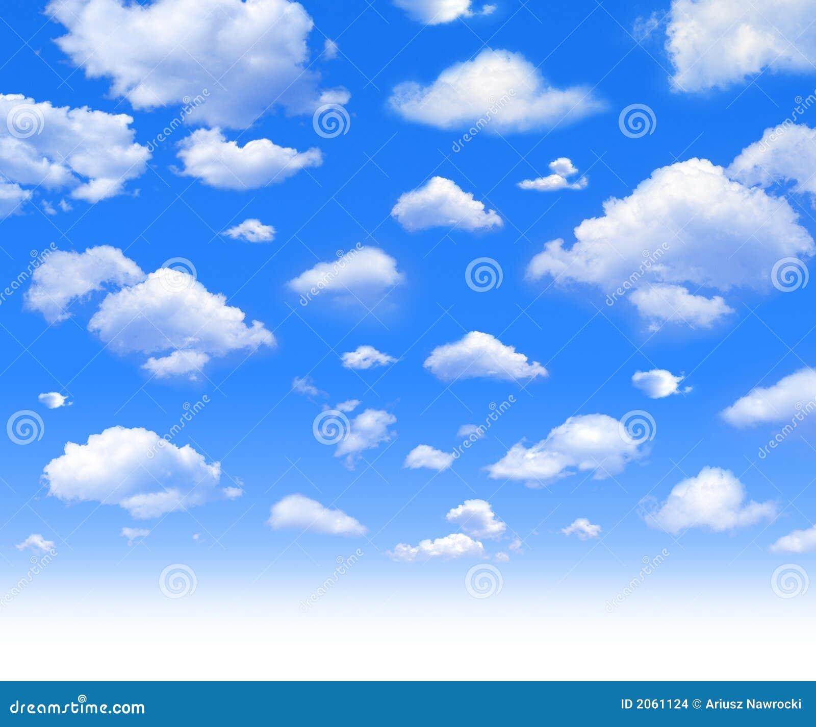 Muito Nuvens foto de stock. Imagem de azul, céu, nuvem, macio - 2061124 NX14