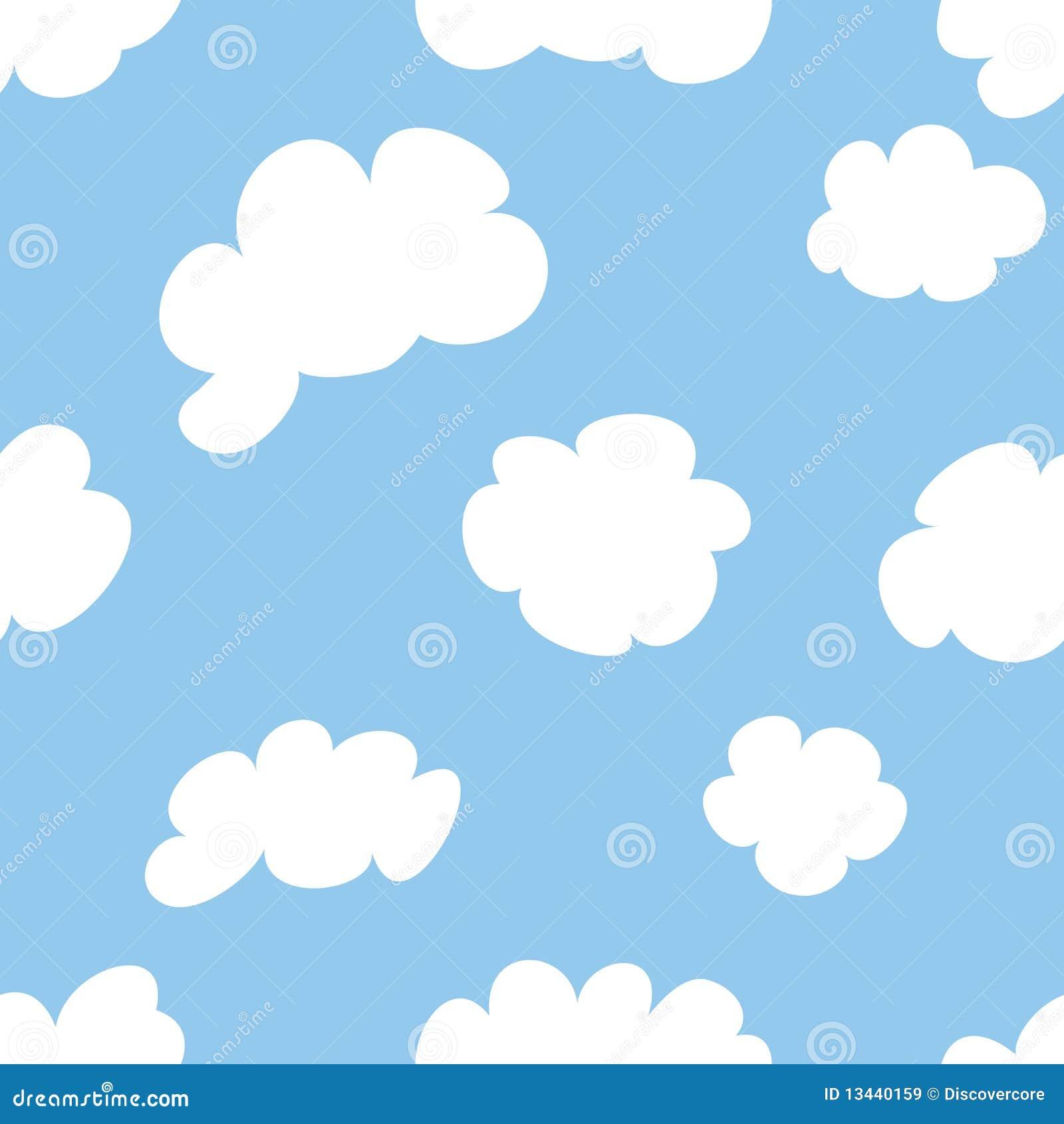 Nuvens Dos Desenhos Animados Ilustração do Vetor - Ilustração de desenhos,  nuvens: 13440159