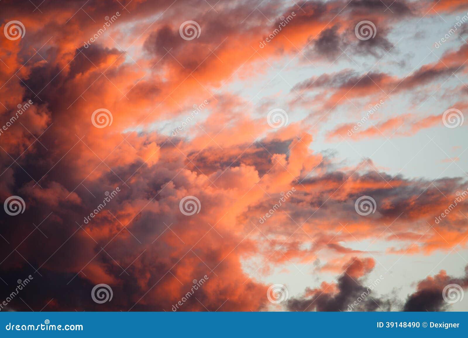 Nuvens dramáticas