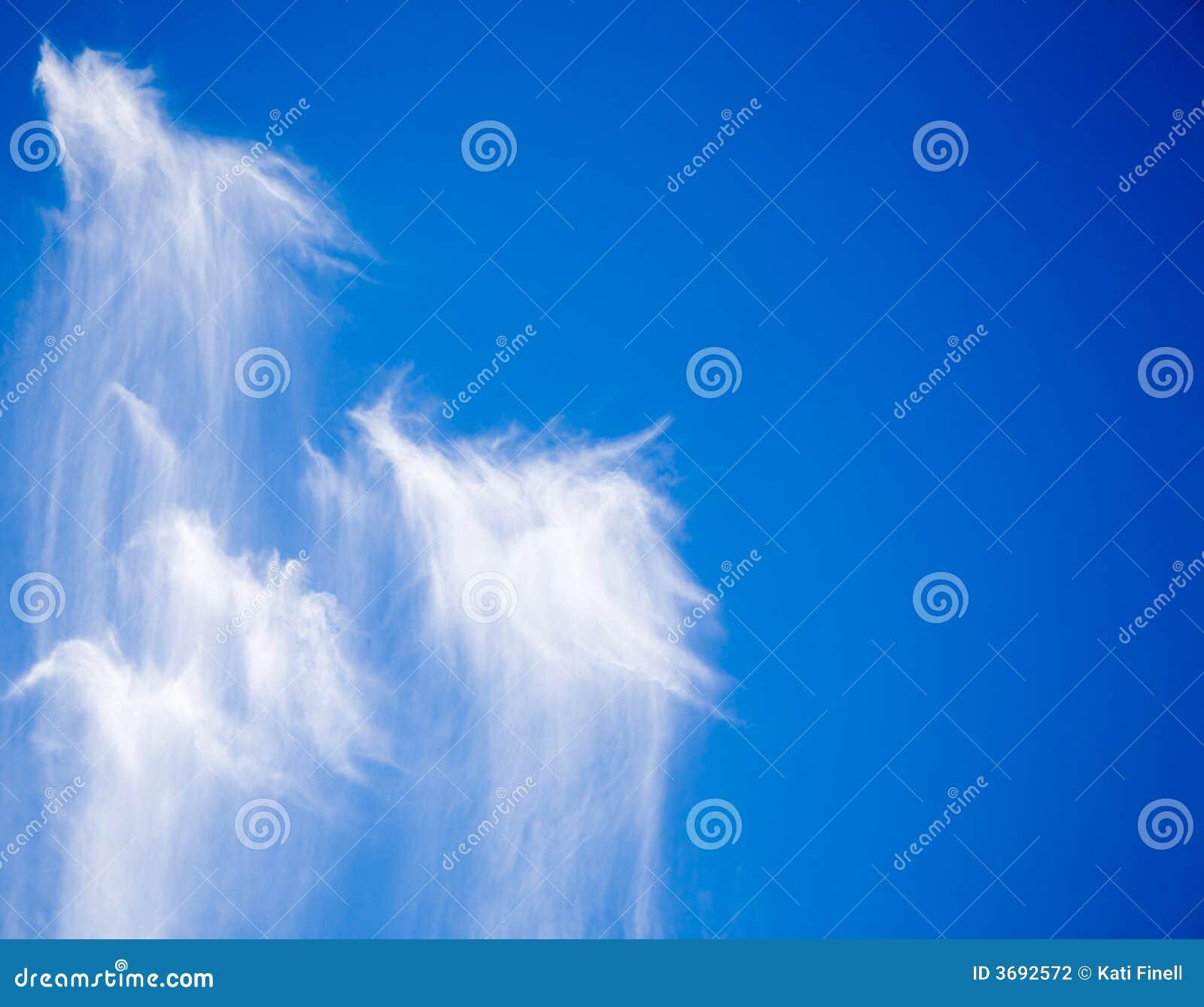 Nuvens engraçadas