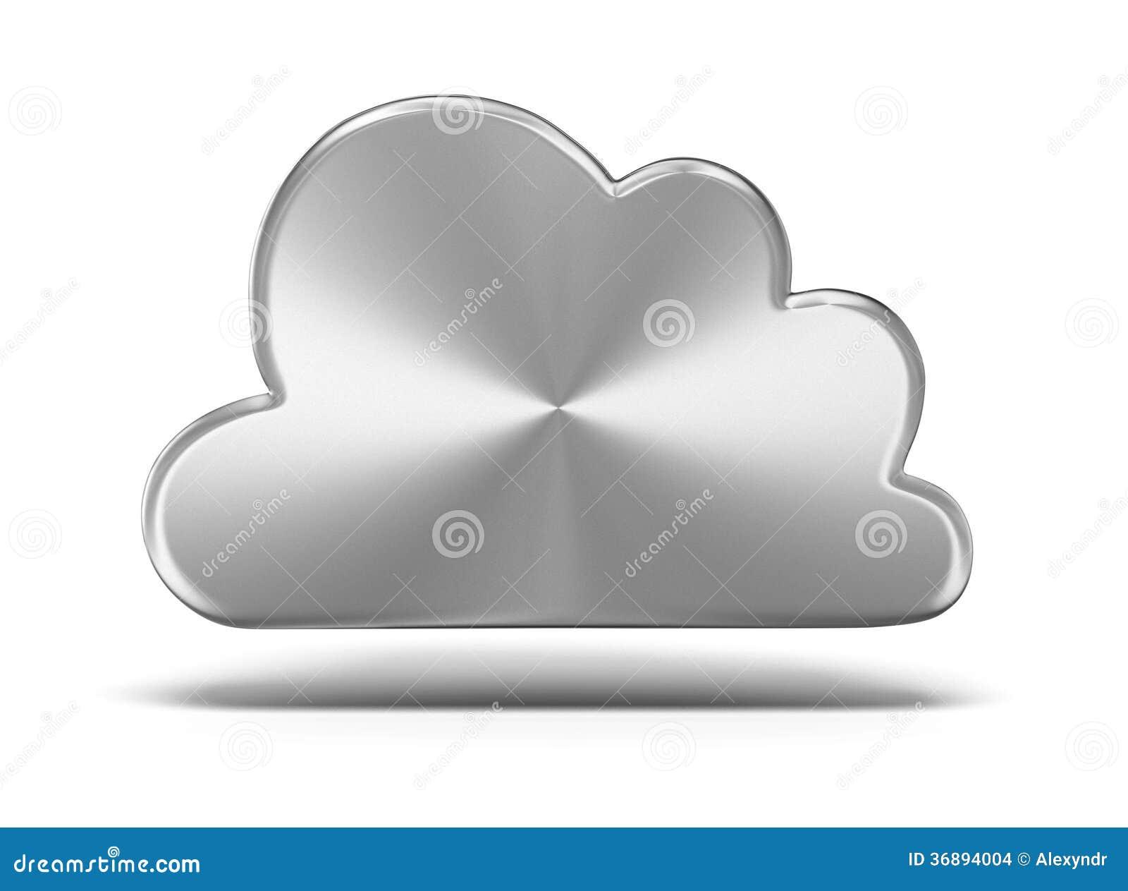 Download Nuvola del metallo illustrazione di stock. Illustrazione di colleghi - 36894004