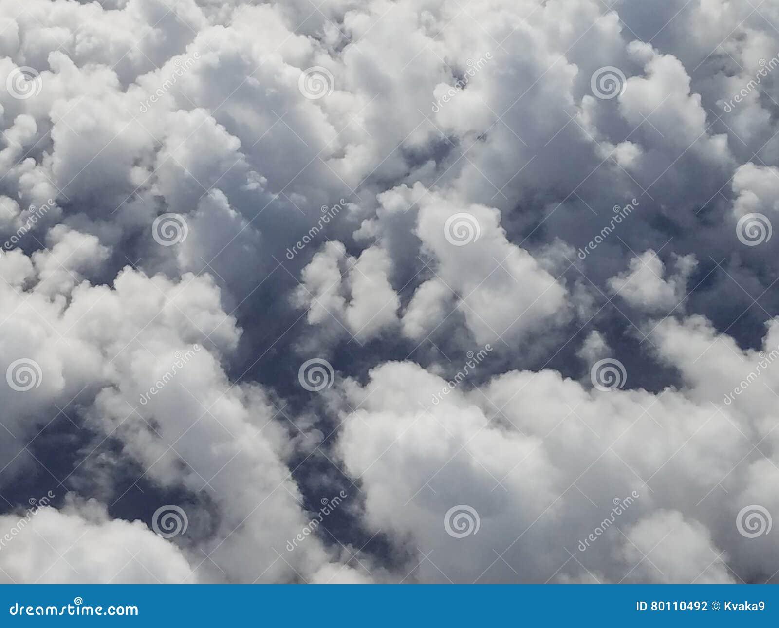 Nuvole che simbolizzano le emozioni, mistero, i sogni e le emozioni